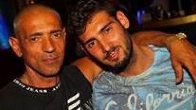 Gerardo Ventrella con il figlio Samuele, morto a 25 anni nella notte fra sabato e domenica