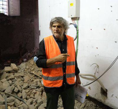Il direttore dei lavori Giovanni Cerfogli (FotoFiocchi)