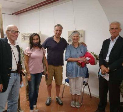 Un momento dell'inaugurazione della mostra 'Michelucci a Cutigliano'