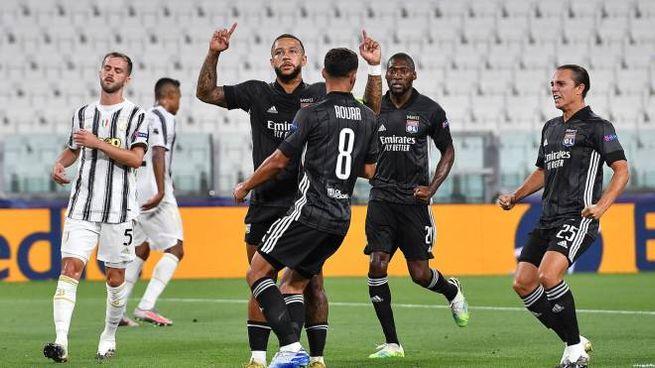 Juventus-Lione (Ansa)