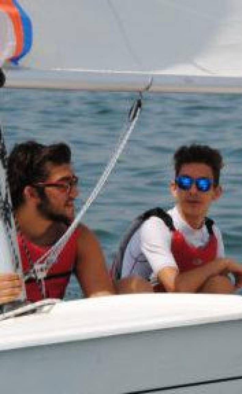 Anche i non vedenti. in barca a vela