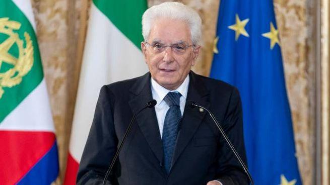 Il presidente della Repubblica, Sergio Mattarella (Dire)