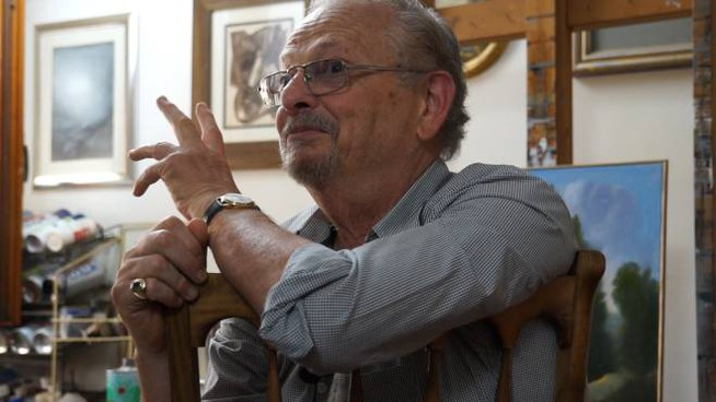 Il pittore Ubaldo Bartolini