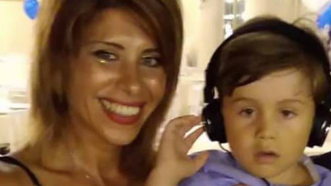Viviana Parisi insieme al figlio Gioele