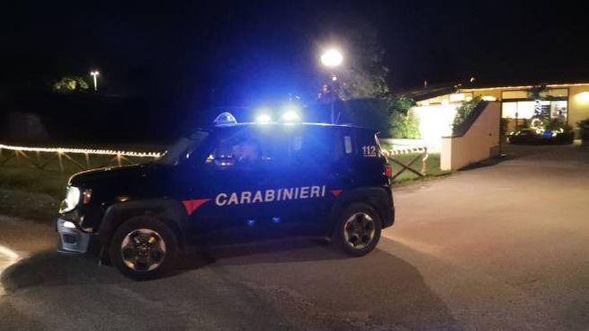 Morto in piscina a Lido di Savio, sul posto i carabinieri (Foto Zani)