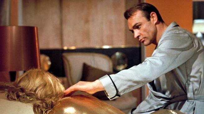 Sean Connery in 'Agente 007 - Missione Goldfinger' (1964) - Foto: Metro-Goldwyn-Mayer