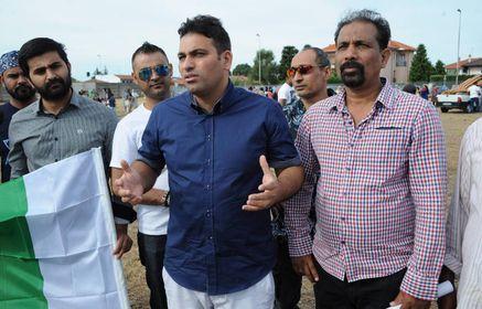 Munib Asfhaq, presidente dell'associazione Cricket Magenta