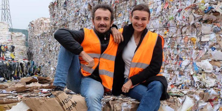 Rita Bandini assieme al fratello Simone: i due gestiscono l'azienda di famiglia Bandini Casamenti (foto Frasca)