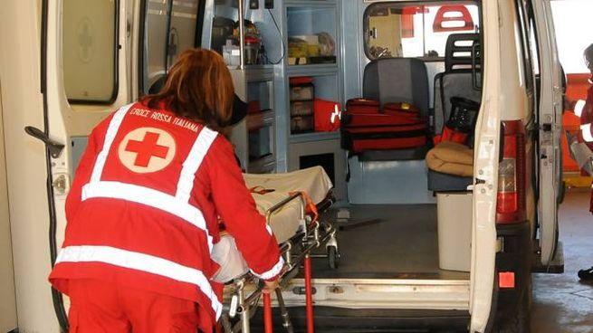 Ambulanza in ospedale