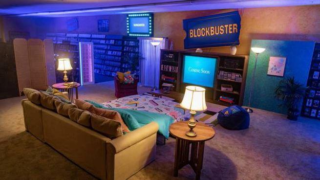 Una notte nell'ultimo Blockbuster sopravvissuto - Foto: Airbnb