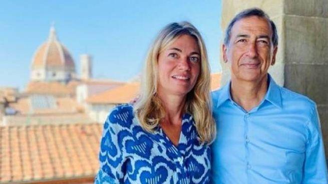 Il sindaco Beppe Sala in vacanza a Firenze (Foto Instagram)
