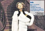 Gloria Swanson nella locandina di 'Viale del tramonto', in cui interpreta Norma Desmond
