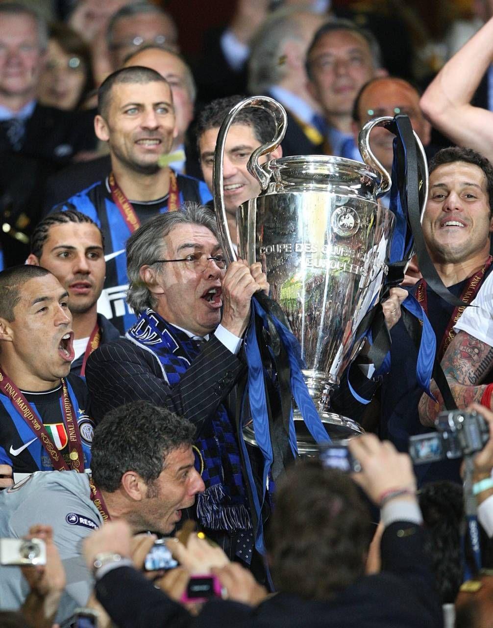 Moratti alza la Champions a Madrid: è il 22 maggio 2010
