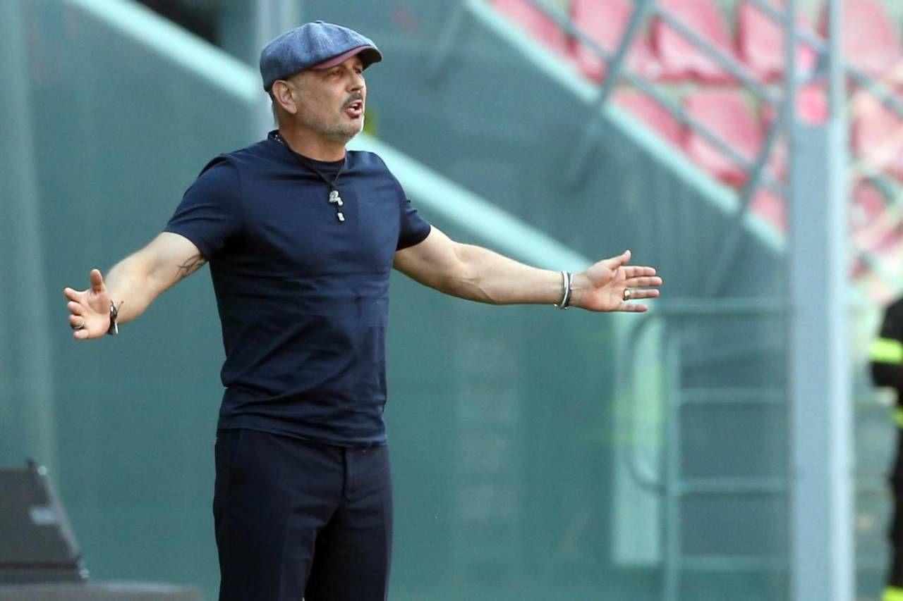 Sinisa Mihajlovic, allenatore del Bologna (Ansa)