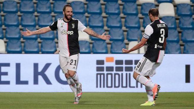 Gonzalo Higuain chiuderà l'esperienza alla Juve (Ansa)