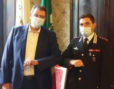 Pietro Romano e Simone Musella che guiderà il nucleo investigativo di Catania
