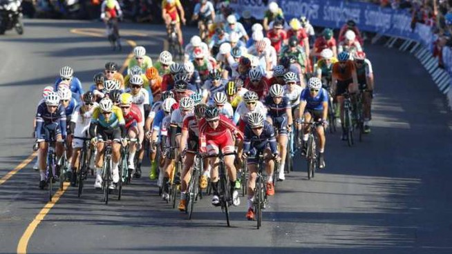 Mondiali di ciclismo (foto di repertorio)