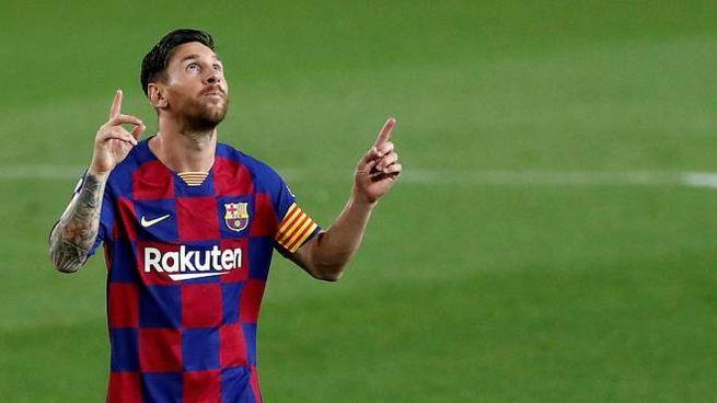 Lionel Messi vuole lasciare il Barcellona (Ansa)