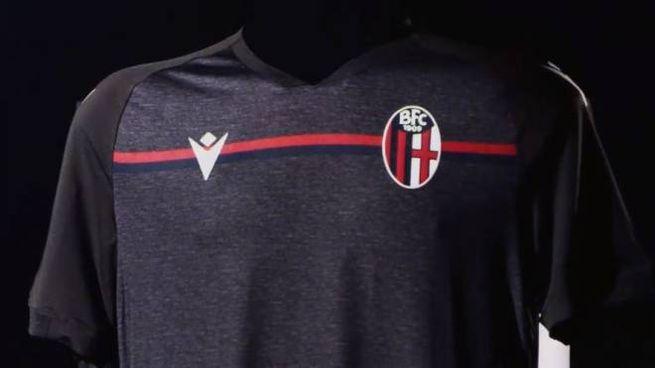 Bologna Fc, la terza maglia 2020   2021 è grigia VIDEO   Sport