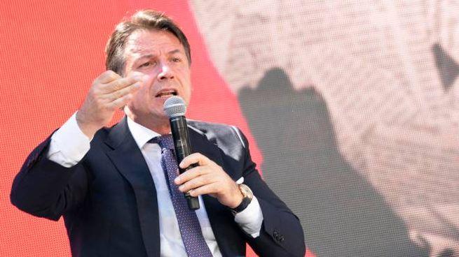 Il presidente del Consiglio, Giuseppe Conte (Ansa)