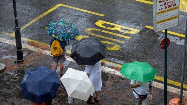 Maltempo e pioggia: la prossima settimana peggiora (Imagoeconomica)