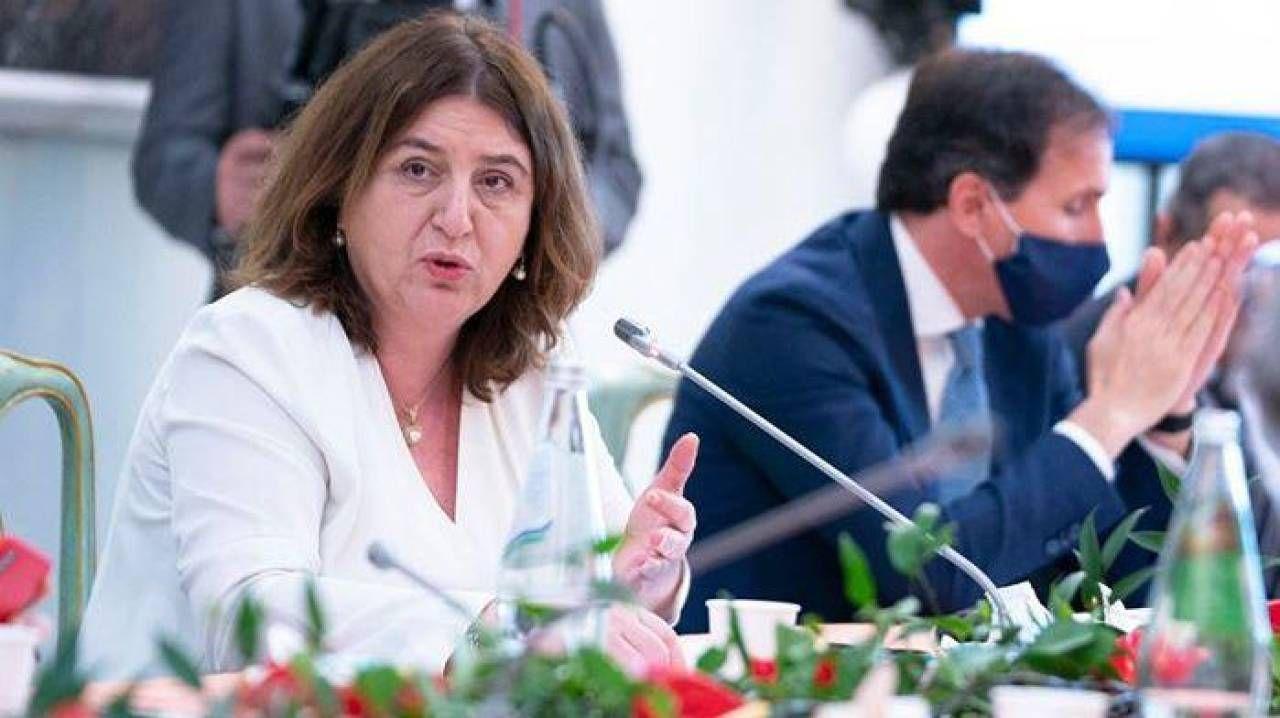 La ministra del Lavoro e delle Politiche sociali, Nunzia Catalfo, 53 anni