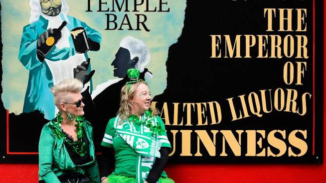 Festa irlandese in Bolognina