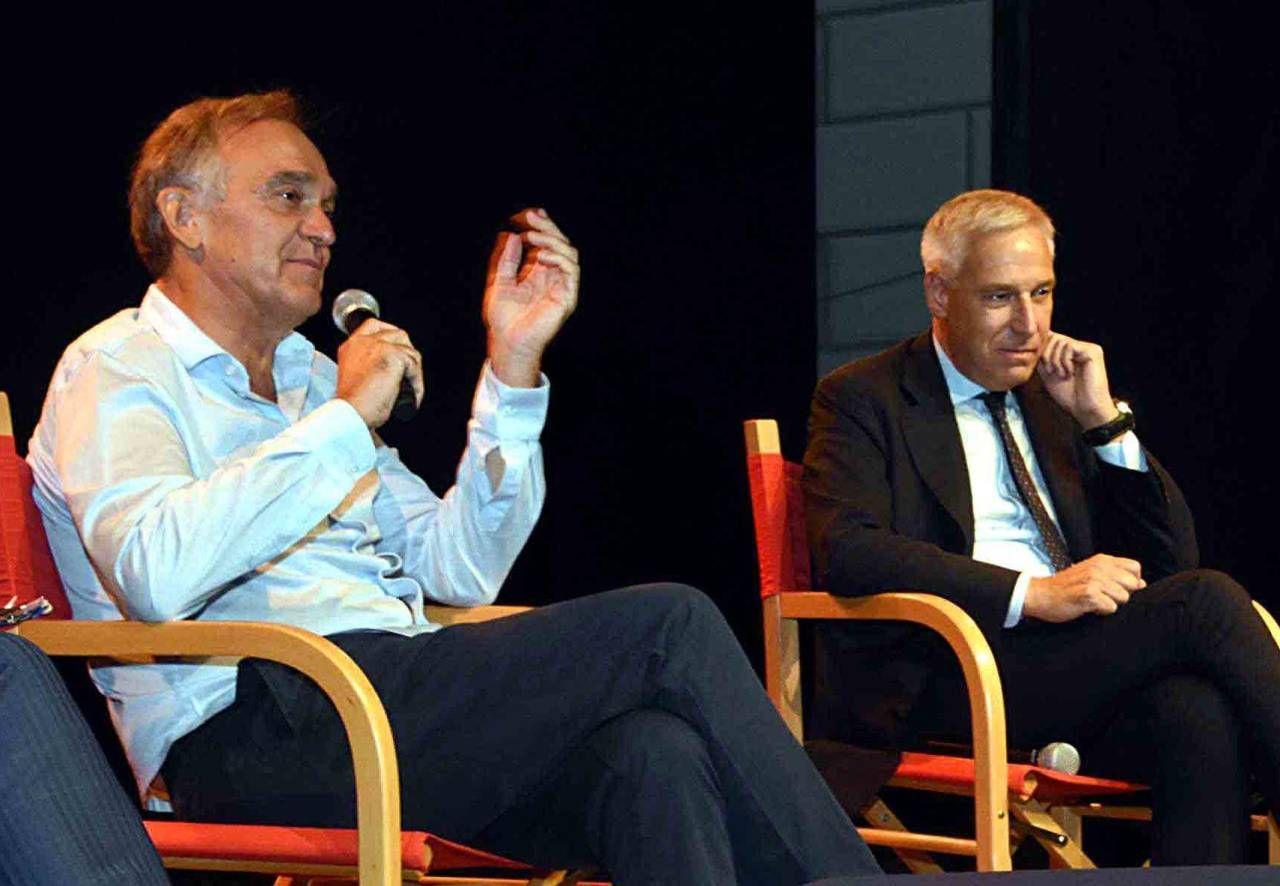 Enrico Rossi e Giorgio Del Ghingaro al convegno sul Coronavirus in Versilia