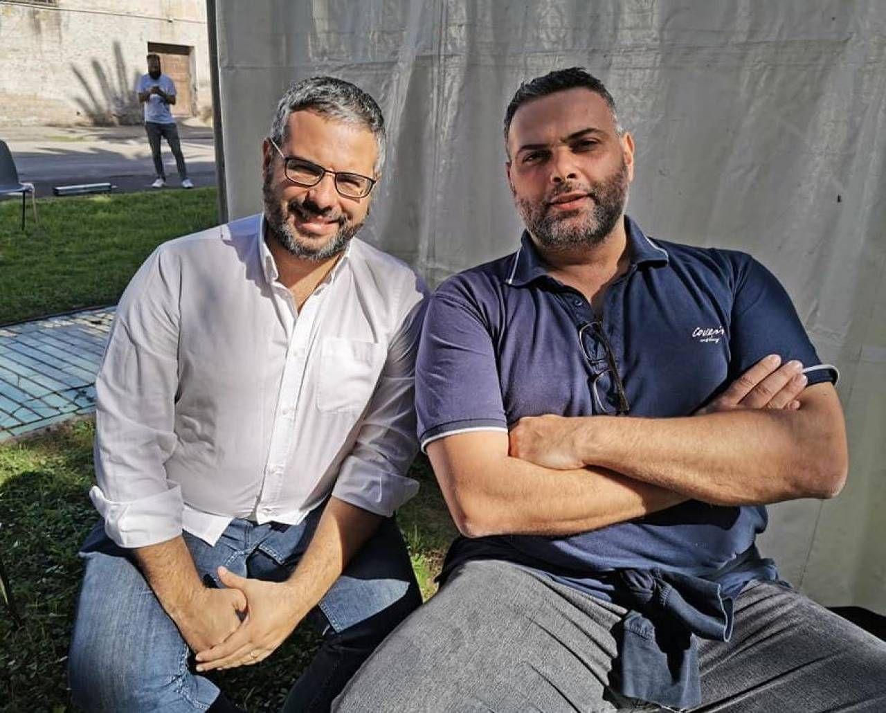 Luca Migliorino e Giacomo Giannarelli