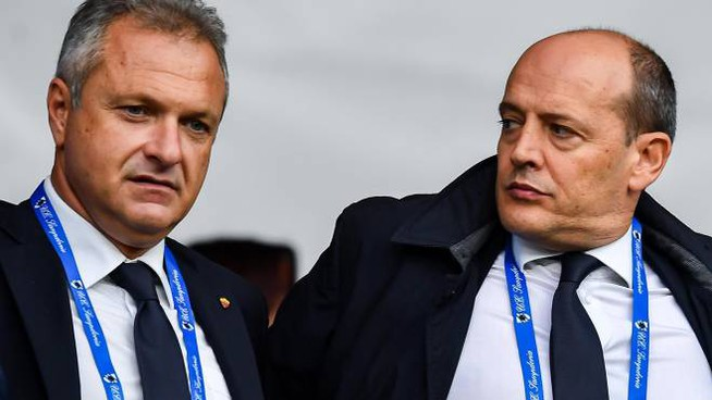 Fienga e Baldissoni all'Olimpico