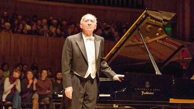 Il maestro Maurizio Pollini