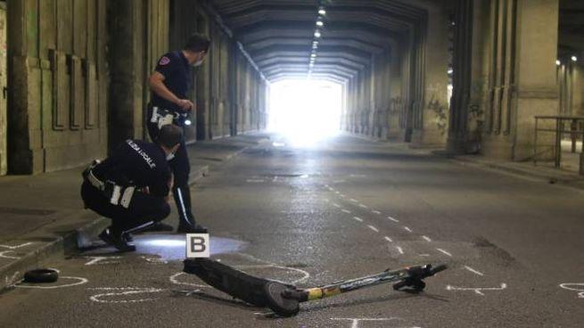 Sottopasso Mortirolo, incidente tra auto e monopattino
