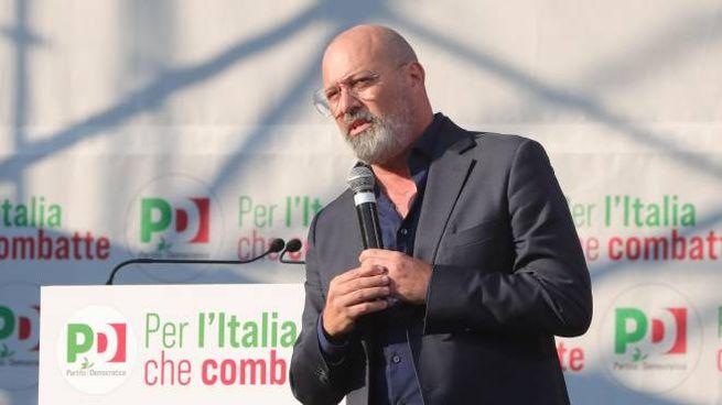 Il presidente della regione Emilia Romagna Stefano Bonaccini