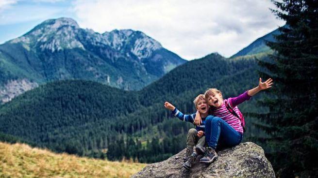 Mete di montagna a prova di bambino