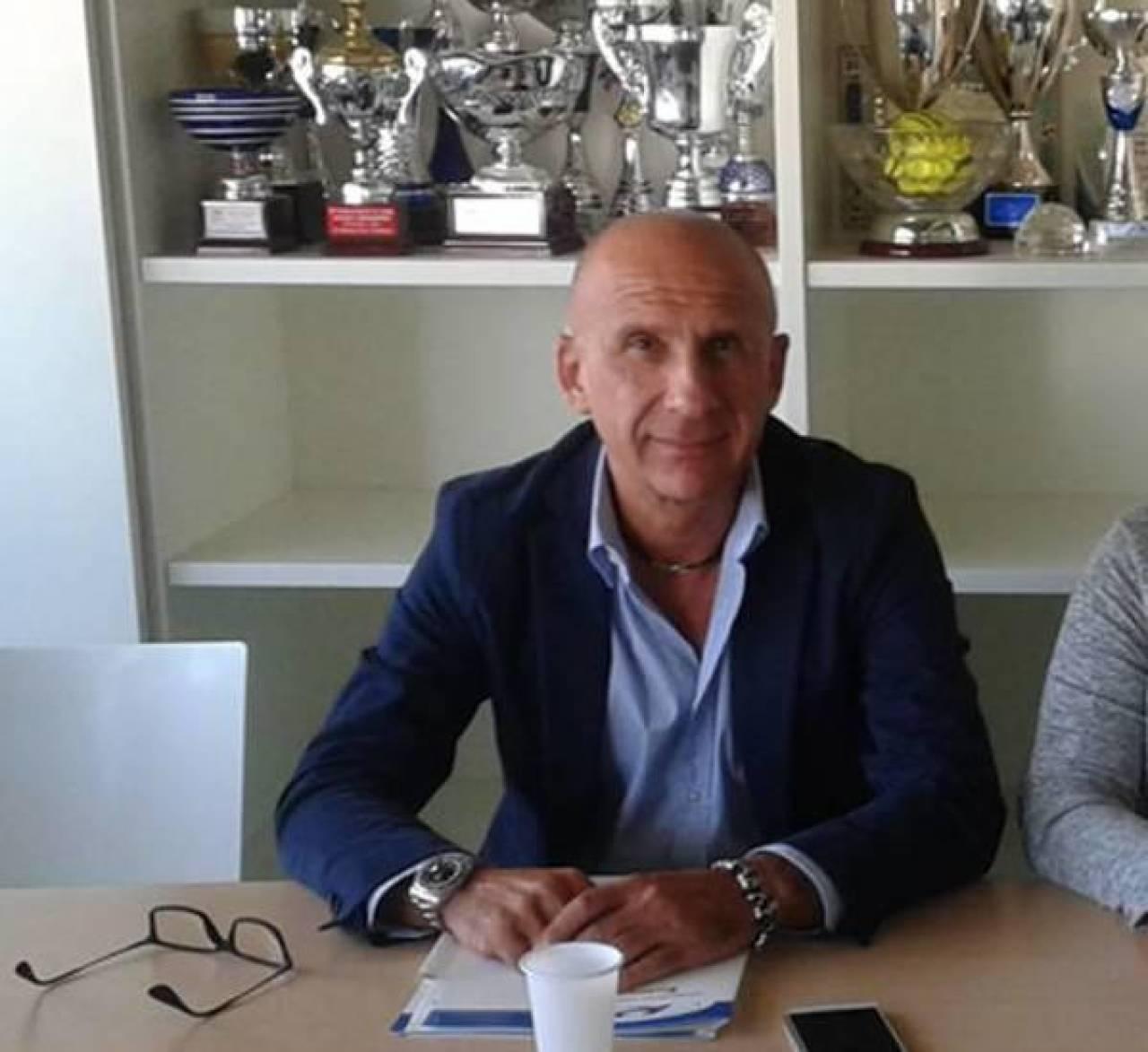 Giuseppe Solfrini, presidente della Polisportiva comunale