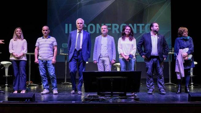I sette candidati (New Press Photo)