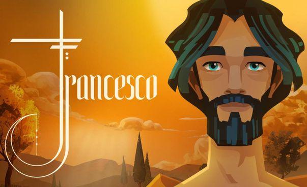 """Il frame iniziale del cartone animato """"Francesco"""" che sarà presentato oggi nella piazza inferiore ad Assisi"""