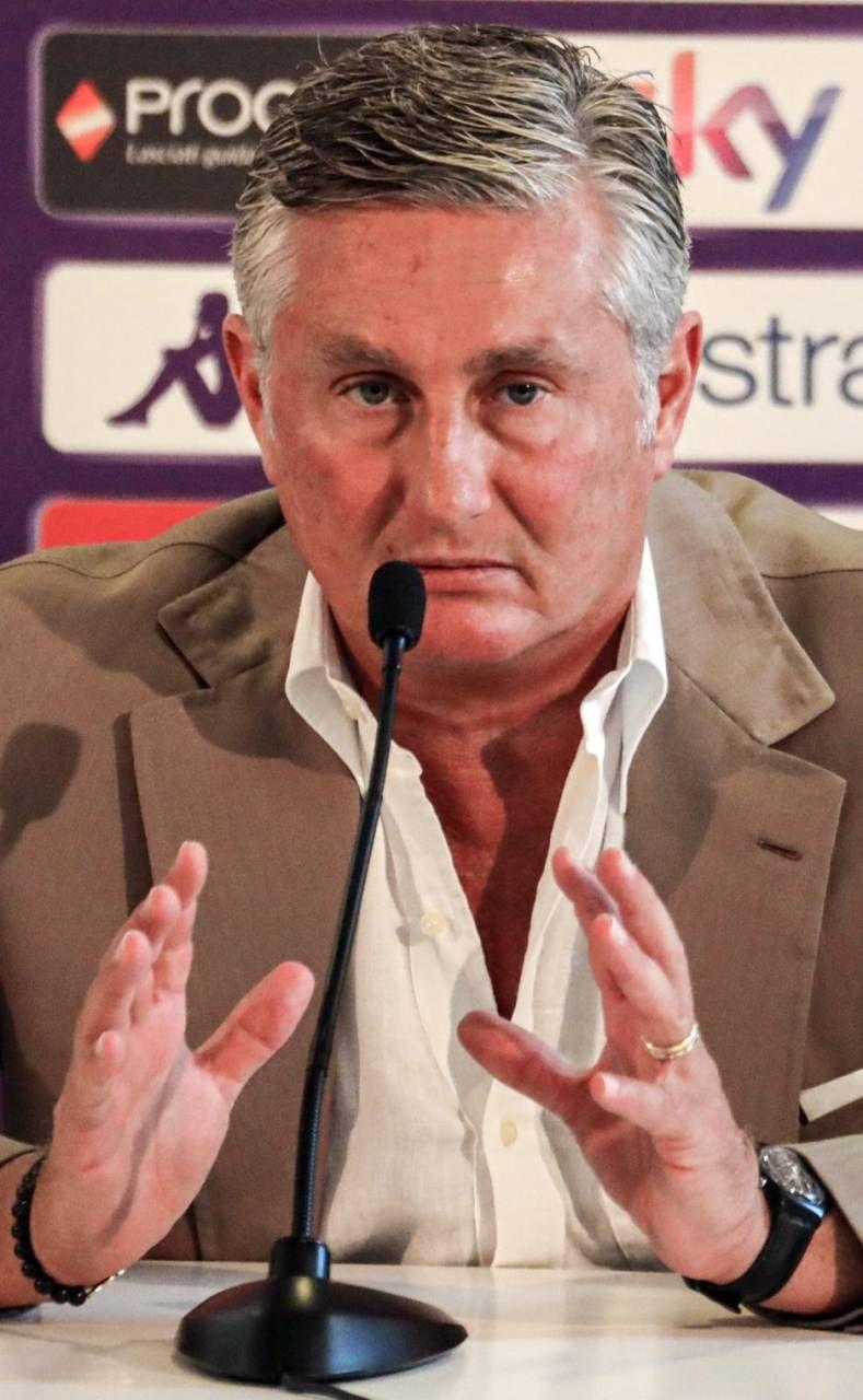 Il ds della Fiorentina Daniele Pradè