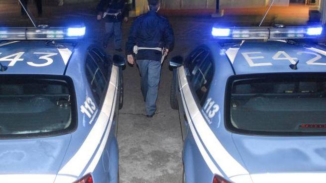 Polizia in azione (foto di repertorio)