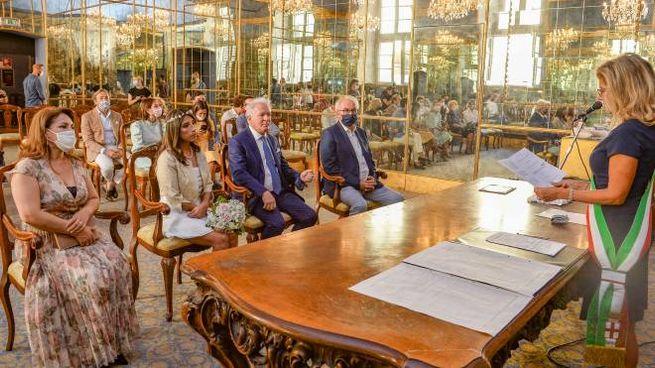 Ripresa matrimoni civili con invitati a Palazzo Reale dopo il lockdown