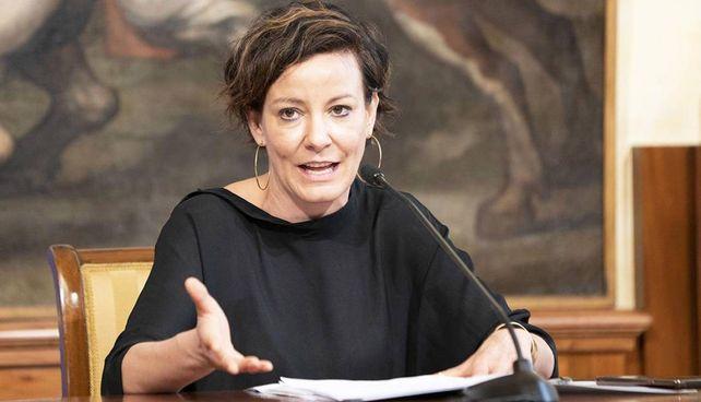 Paola Pisano, 43 anni, ministra per l'Innovazione tecnologica e la digitalizzazione, espressione del Movimento 5 Stelle. Dal 2016 al 2019 è stata assessore all'Innovazione del comune di Torino