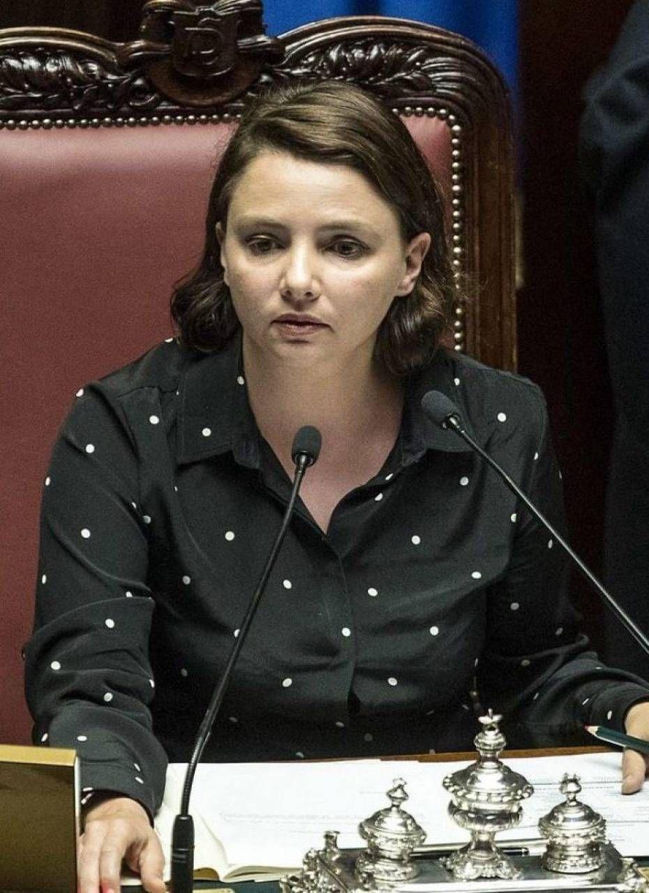 La vicepresidente della Camera dei Deputati, esponente di spicco dei 5 Stelle, Maria Edera Spadoni