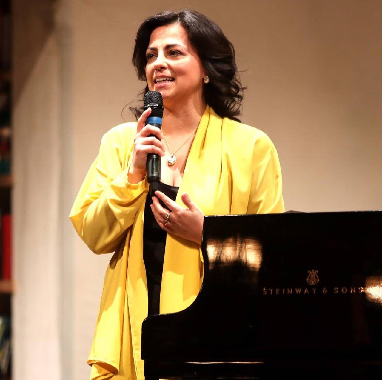 Angela Maria Gidaro, sovrintendente dell'Accademia 'Incontri con il maestro'