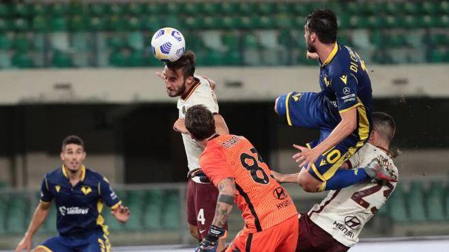 Verona-Roma 0-0 (Ansa)