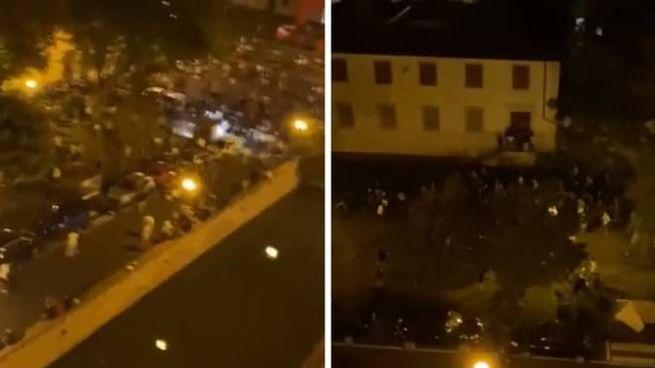 Il caos nel quartiere della Venezia
