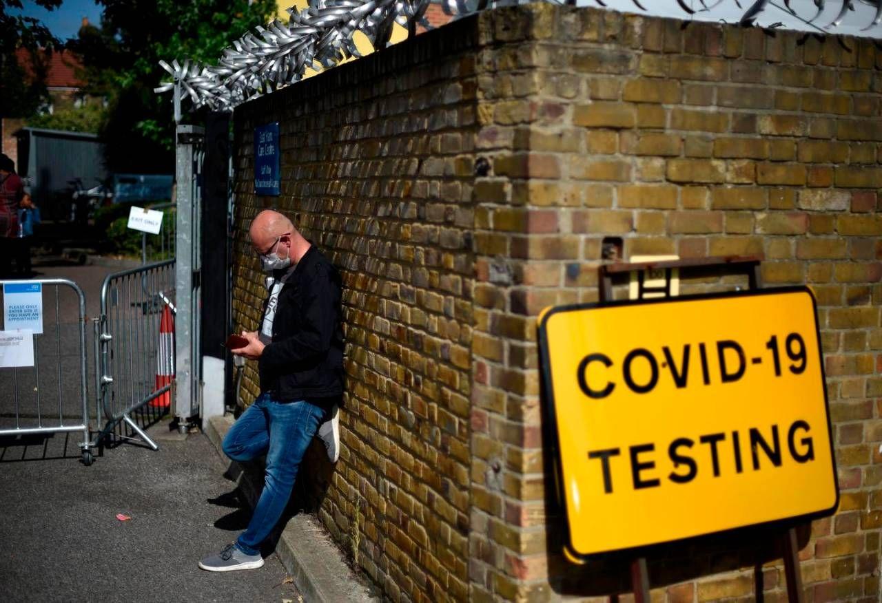 Covid, aumento dei casi in Gran Bretagna (Ansa)