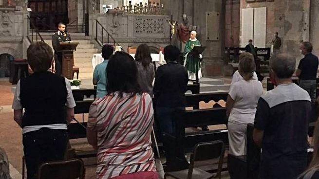 Carabinieri in chiesa per prevenire le truffe agli anziani