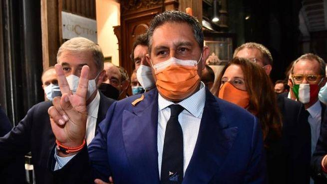Giovanni Toti riconfermato presidente della regione Liguria (foto Ansa)