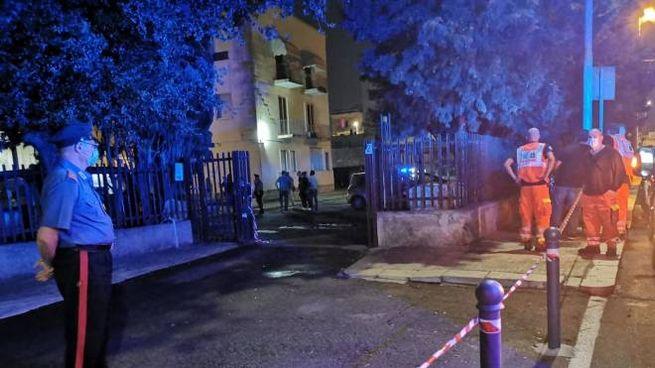 Un uomo e una donna uccisi in condominio a Lecce (Ansa)
