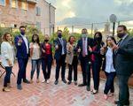 Luigi Di Maio e i 5 Stelle esultano per il risultato del referendum (Dire)